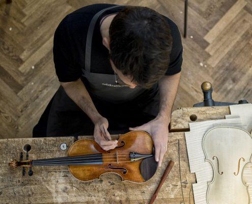 Setup Violin